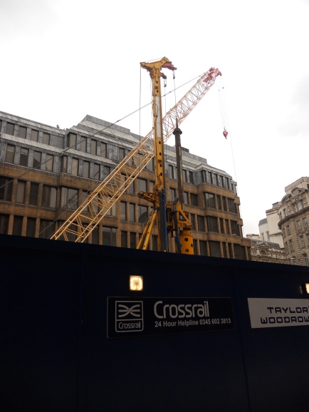 Digging for Crossrail