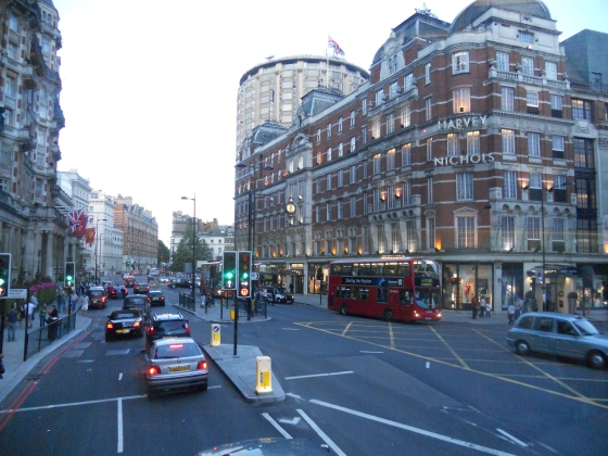 Route 74: Putney to Baker Street - Harvey Nichols