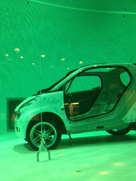 Nemo 33 – who potentially have a sponsorship deal with Smart car…